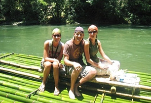 Bamboo Rafting Adventure